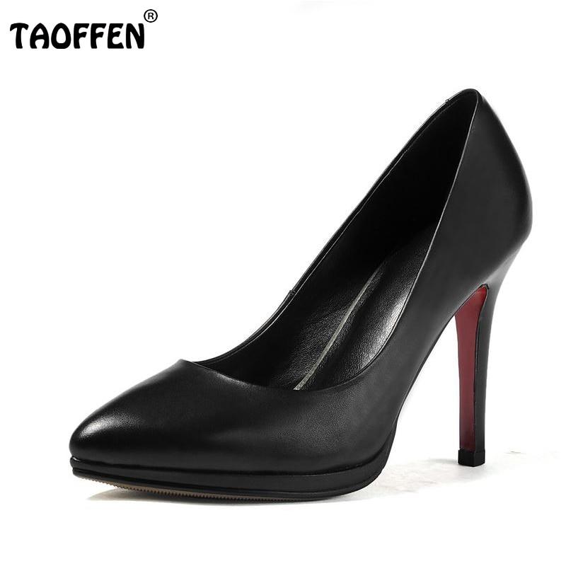 ФОТО size 34-39 women wedding real genuine leather  high heel shoes brand sexy heels fashion pumps heeled shoes R08390