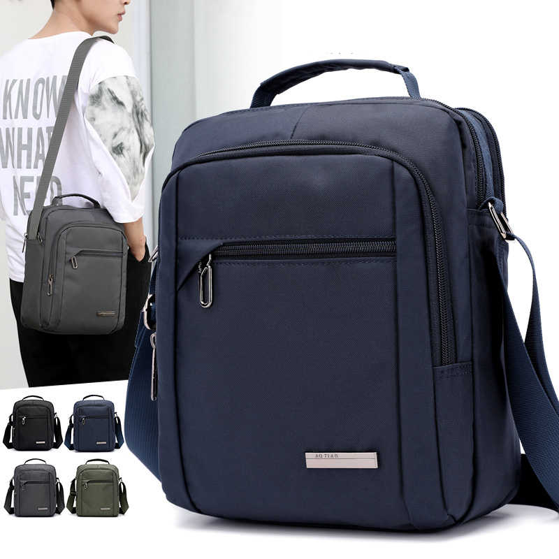 New 2019 fashion men Shoulder bags, Nylon casual messenger bag, high quality man brand men's business Tote handbag Male Bolsas