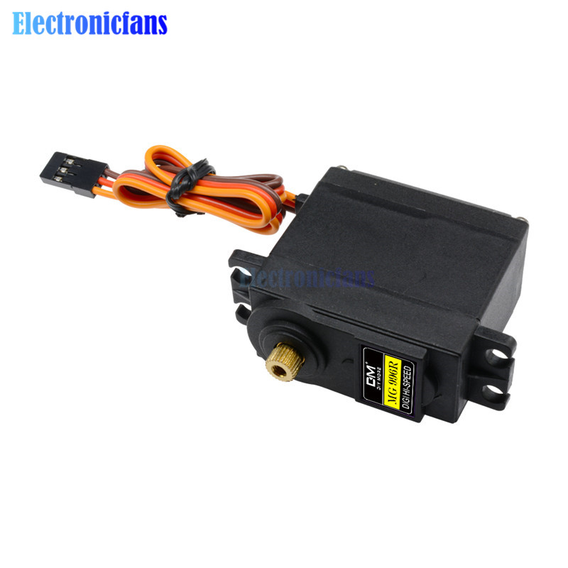 Image 2 - 10PCS Servos Digital MG996R MG995 55g Servos Digital Metal Gear RC Car Robot Servo for Car RC Model Helicopter Boat MG995-in Integrated Circuits from Electronic Components & Supplies