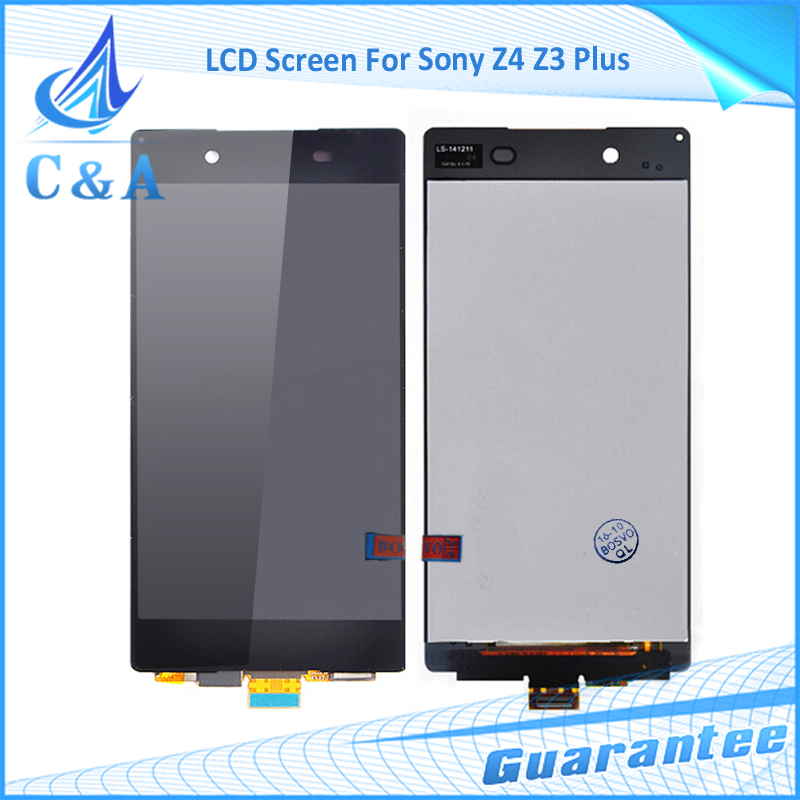 1 piece free shipping replacement part 5.2 inch screen for Sony Xperia Z4 Z3+ z3 plus E6533 lcd display with touch digitizer