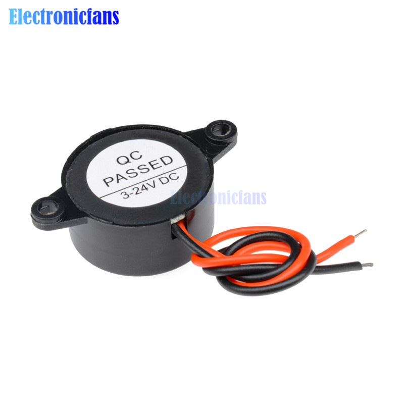 SFM-20B DC3-24V Useful New Arrival Durable 3-24V Piezo Electronic Buzzer Alarm 95DB Continuous Sound Beeper For Arduino Car Van