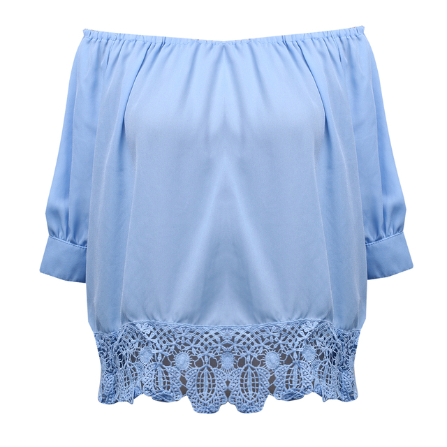 Women Clothes Lace Off...