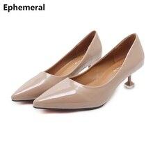 Le donne Zapatos Mujer Tacchi A Spillo Punta A punta In Vernice Vino Nero  Scarpe Vintage 995597fe038
