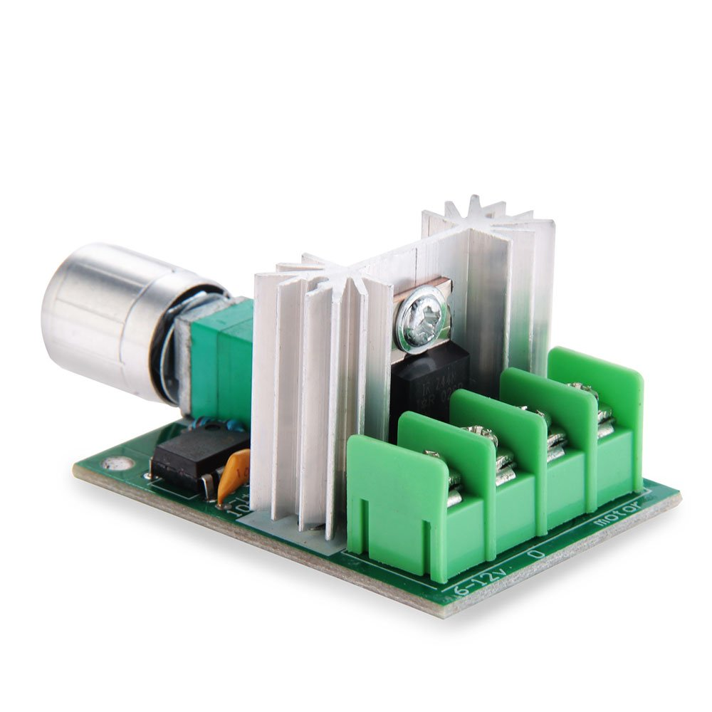 Pulse Width Modulation Dc Motor Control Circuit