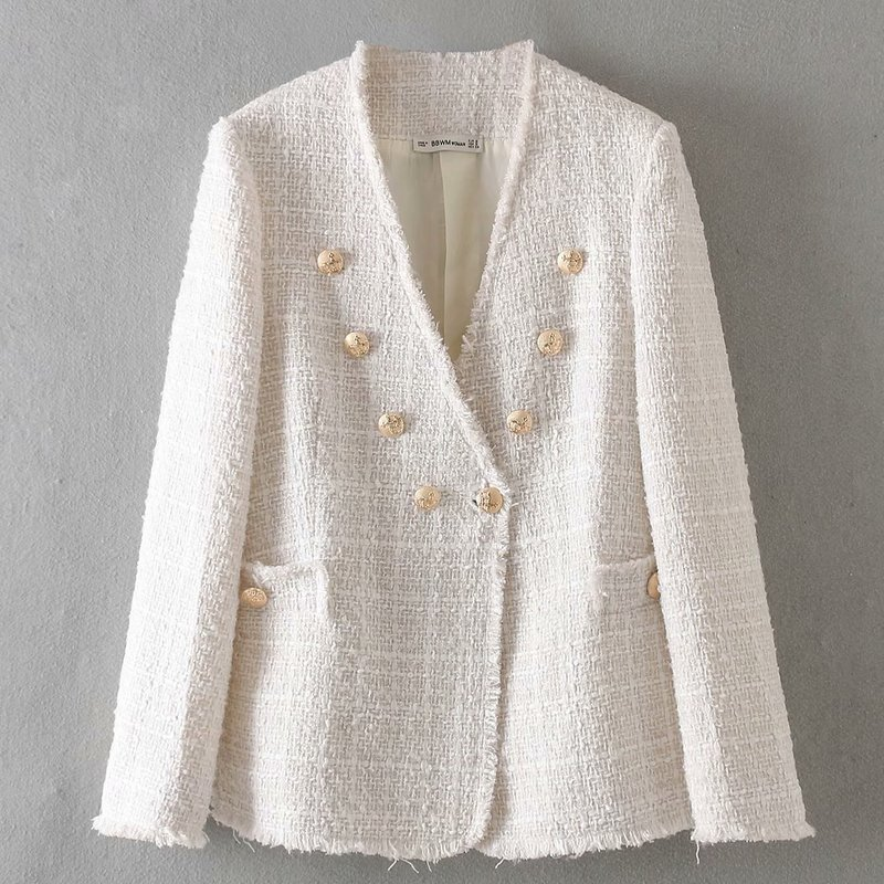 New Arrival BB90-9200 European And American Fashion Twill Soft Cloth Jacket