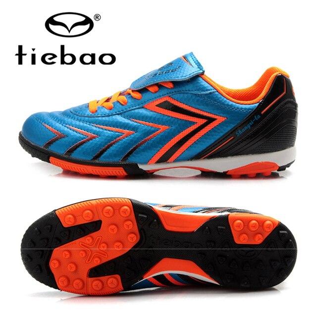 Фирма TIEBAO, футбольные бутсы, футбольные кроссовки для детей, для атлетических тренировок, для улицы, спортивные, футбольная обувь с подошвой TF для дерна