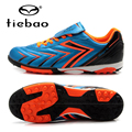 TIEBAO Brand Football Soccer Shoes Children Kids Athletic Training Football Sneakers Outdoor Sport TF Turf Soles Football Shoes