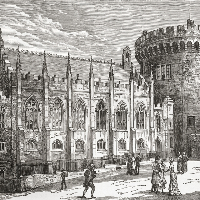 The Chapel Royal  Dublin Castle  Ireland In The Late 19Th Century. From Our Own Country Published 1898. Print (32 x 26)