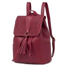 купить 2019 Fashion Multi-Function Single Shoulder Bag Trend European And American Style Popular Women's Backpack New PU Backpack дешево