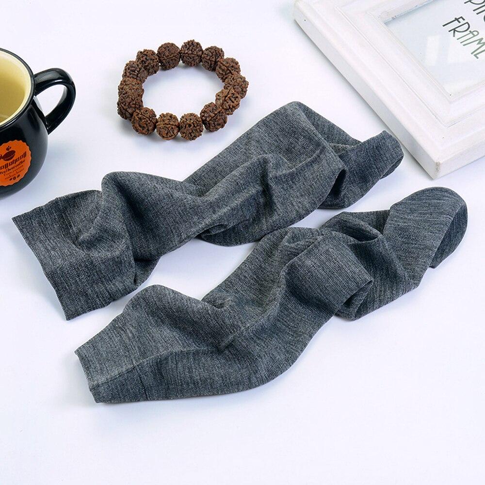 Cheng Heng 10 pairs/bag new hot sale summer mens socks thin section casual socks silk socks 5 colors Mens middle tube socks
