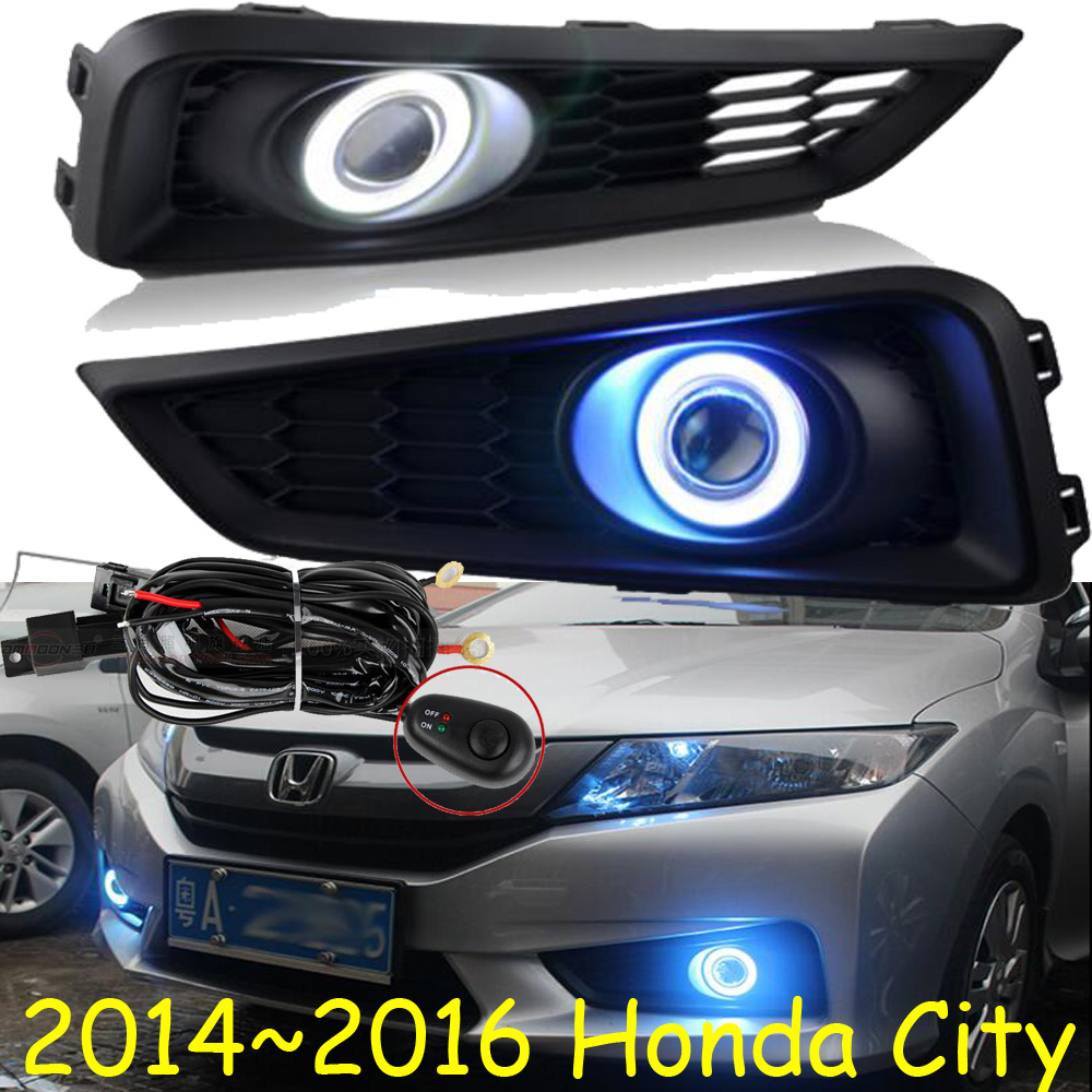 City fog light,2014~2016;Free ship!City daytime light,2ps/set+wire ON/OFF:Halogen/HID XENON+Ballast,City crosstour fog light led 2014 2016 free ship crosstour daytime light 2ps set wire on off halogen hid xenon ballast crosstour