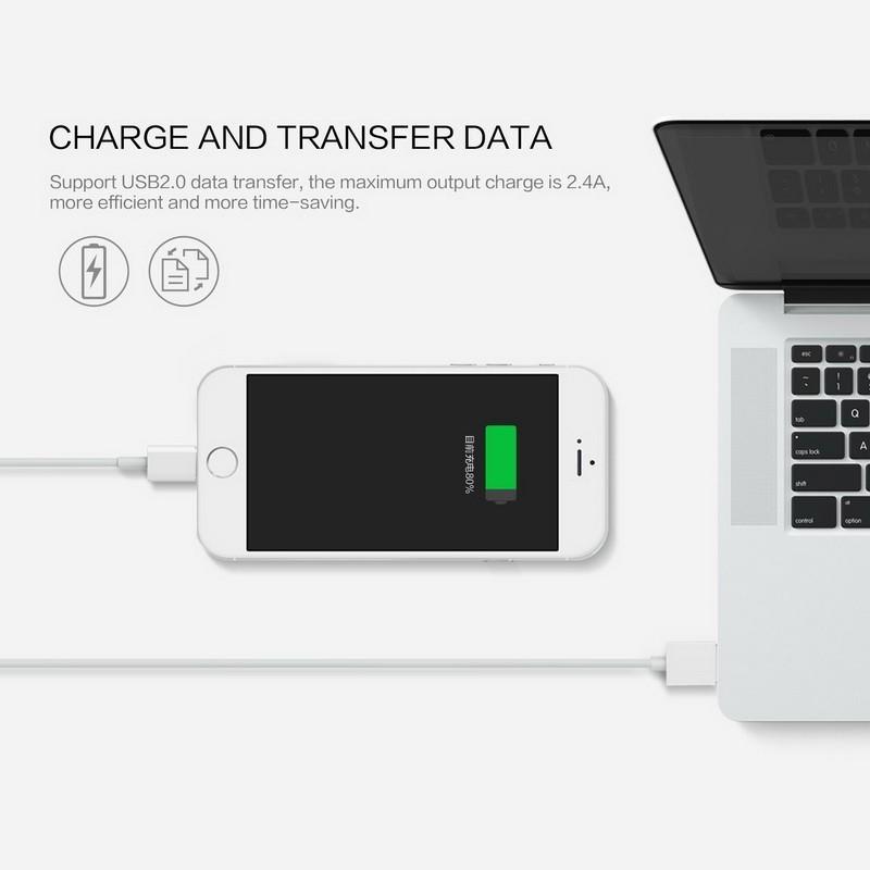 2.4a magnetyczny kabel micro usb cable dla iphone 6 6s 7 plus 5S 5 android samsung telefon komórkowy ładowania danych magnet ładowarka kabel 7