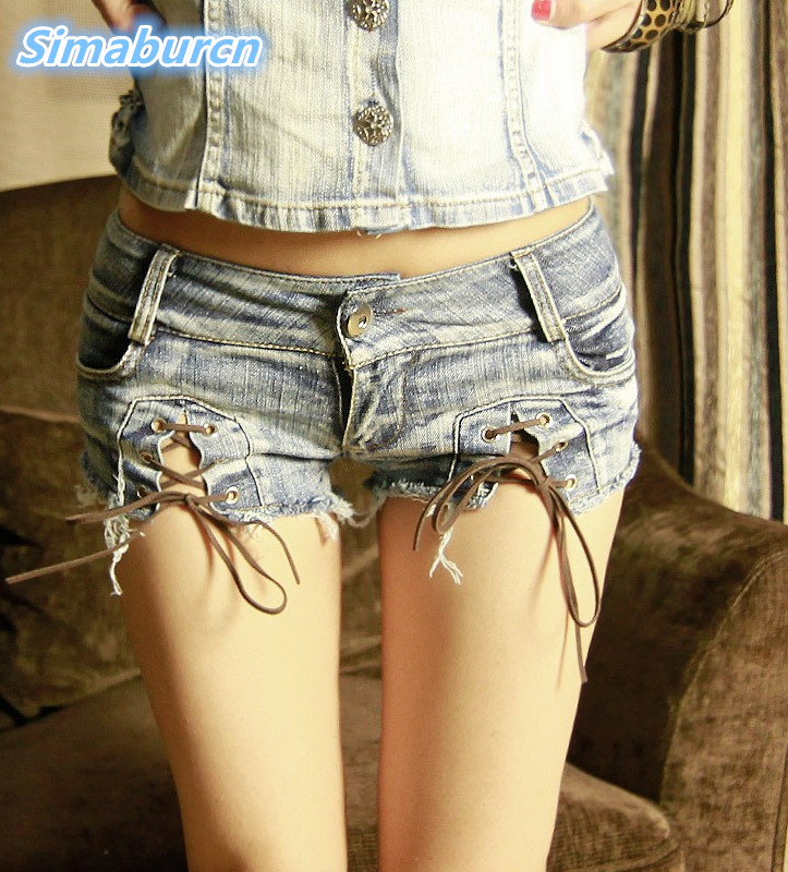 2018 Fashion Brand Vintage Zippers Skinny Sexy Girl Low Waisted   Shorts   Jeans Women Denim Mini Hot Female   Short   Pants