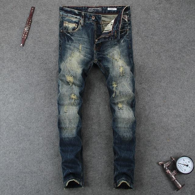 Italien-R-tro-Daignent-Mode-Hommes-Jeans-Slim-Fit-Effiloch-s-Jeans -D-chir-s-Pour.jpg 640x640.jpg 274078c2f99b