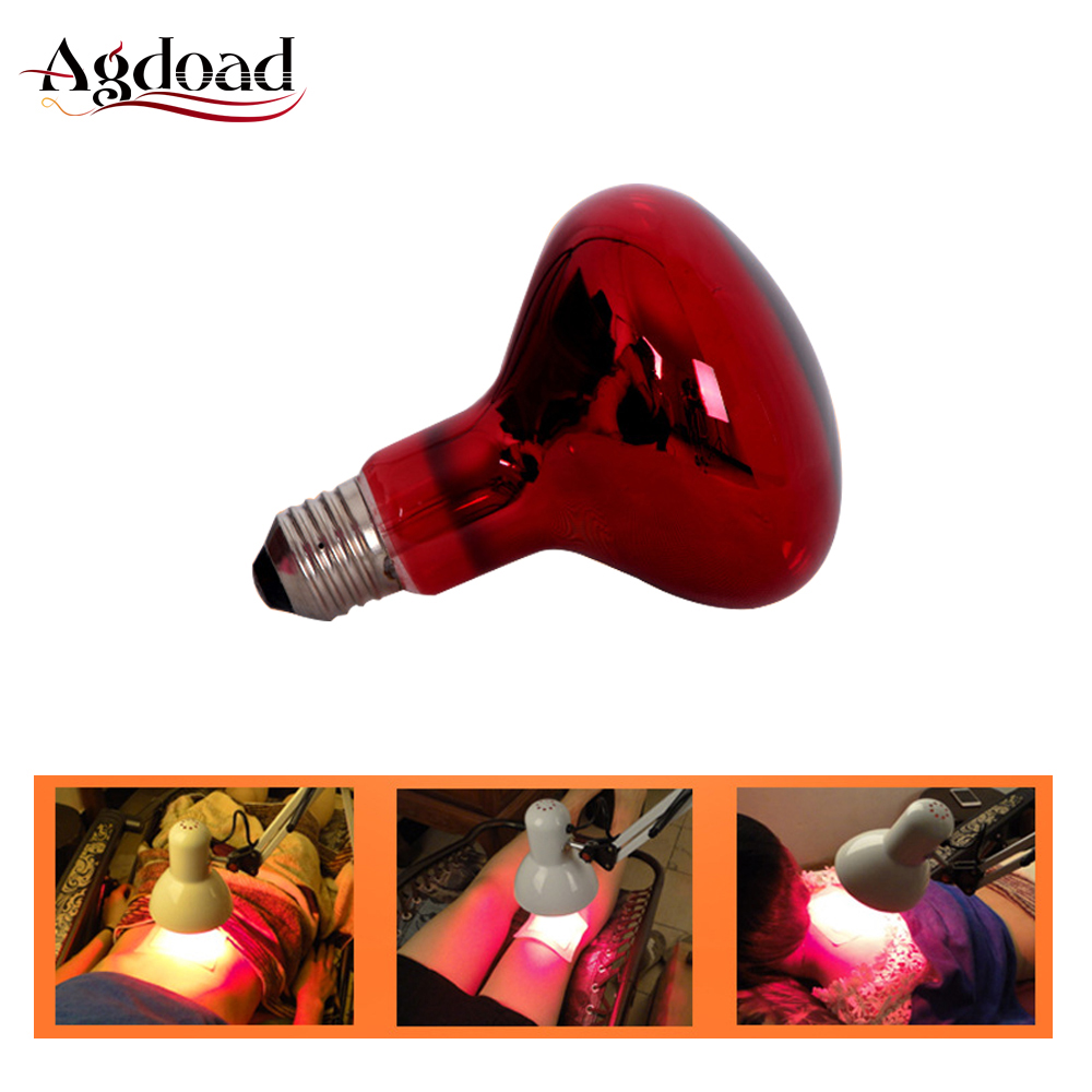 220V 100W Infrared Heating Therapy Lamp Adjustable Full Body Back Knee Pain Relief Physiotherapy Lamp With Infrared Light Bulb
