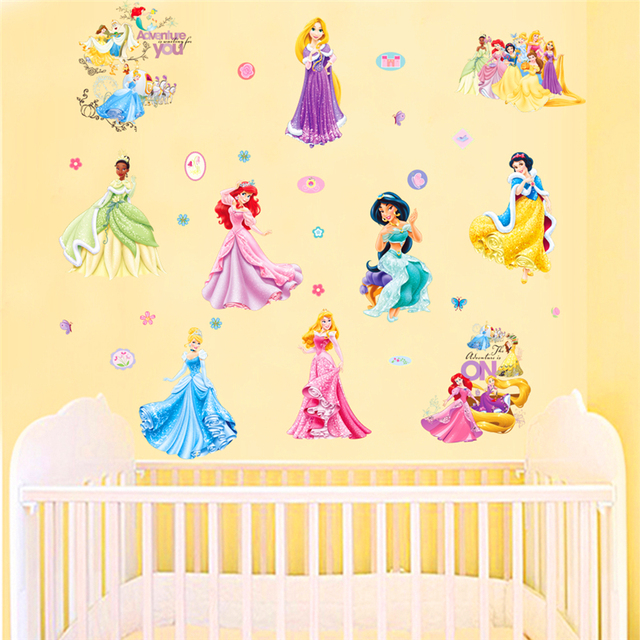 Wall murals for kids room for Fairies wall mural
