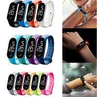 Fashion Women Men Sport Watch Waterproof LED Luminous  Electronic Sensor Watches Casual Bracelet Wrist Watch Thanksgiving Gift