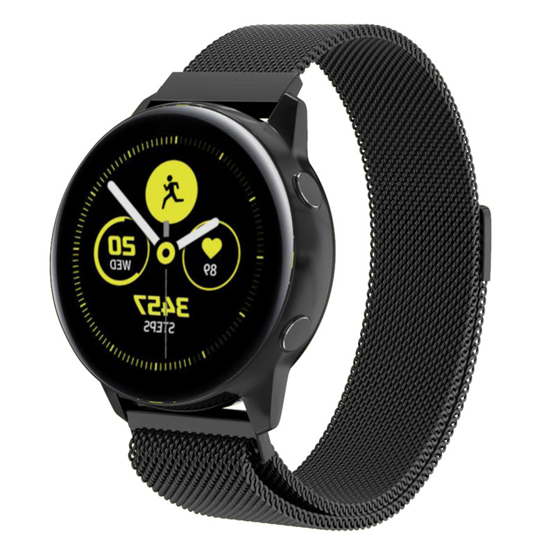 For Galaxy Watch Active Band 20mm Milanese Strap For Samsung Sport Gear S2 Galaxy Watch 42mm