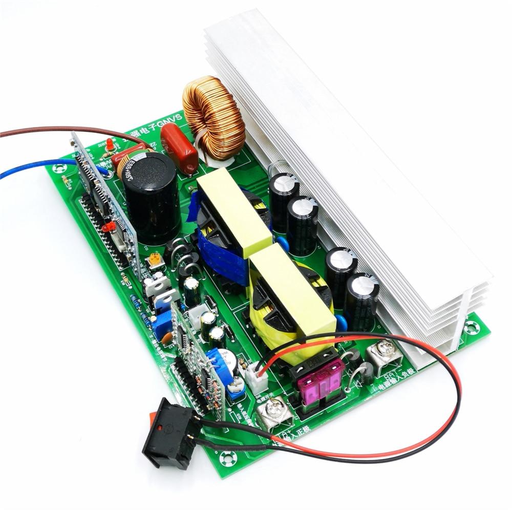 Pure sine wave 12V to 220V inverter circuit board solar converter board 800W