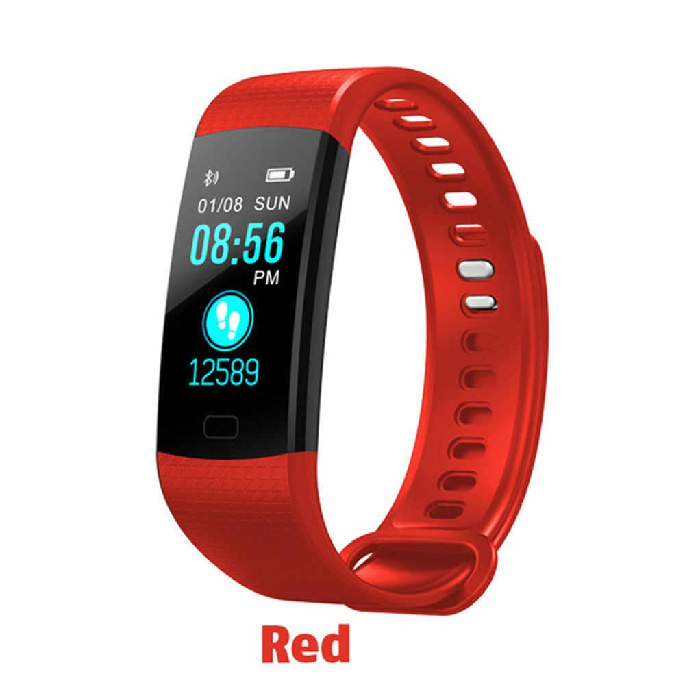 رخيصة اللون سوار ساعة ذكية الرجال/المرأة/الطفل Reloj ذكي Smartwatch صالح ل أبل/شياو mi/سامسونج PK mi الفرقة 4/B57