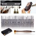 25 in 1 Precision Screwdriver Cell Phone Wallet Repair Tool Set For iPhone Cellphone Electronics