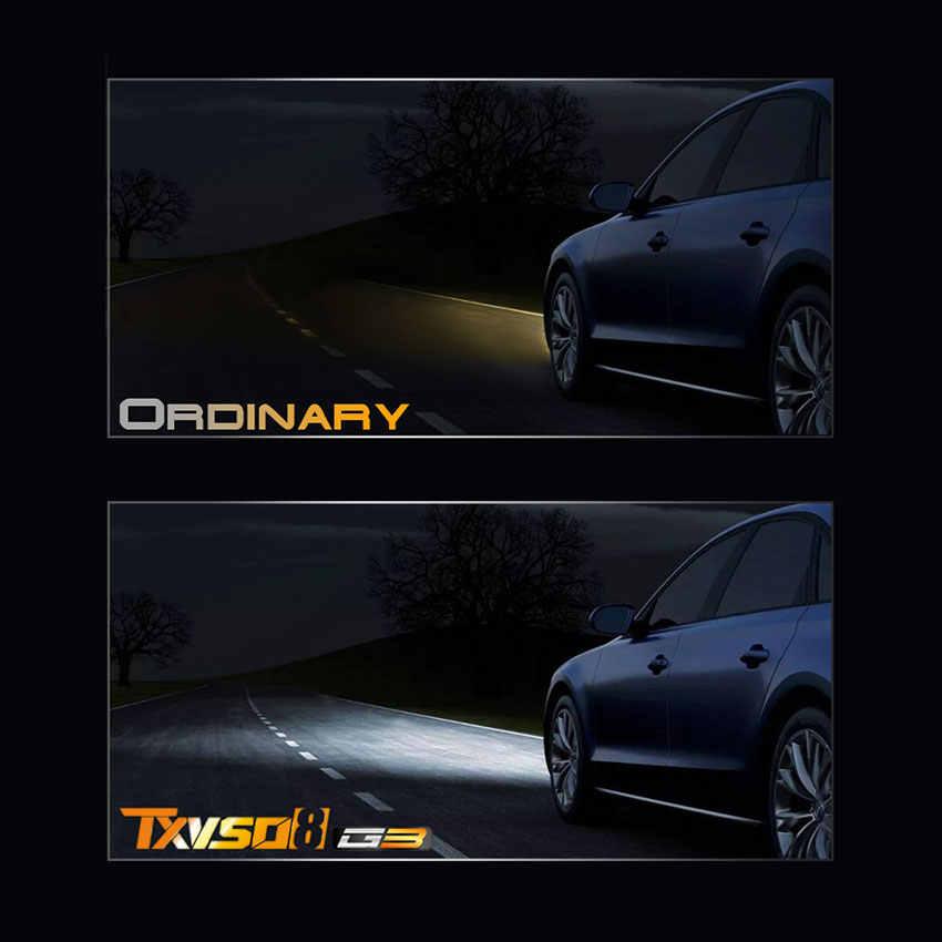 TXVSO8 H4 LED headlight bulbs 6000K CSP chips 10000Lm 50w fog lights Tubor led H1 H7 H11 9005 9006 Super Brgiht Auto headlamp