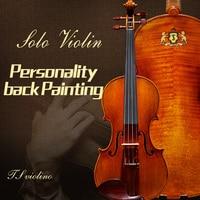 taishi Violino barroco, Giovanni Paolo Maggini Violin wood European violino Todos De Madeira Europeia 4/4