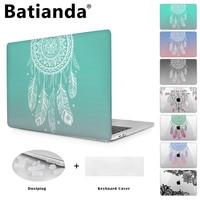 BTD Nice Print Cover Case For Macbook Pro Retina 13 12 15 Macbook Air 11 13