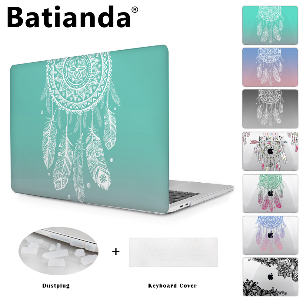 Colorful Gradient Color Cover Sleeve Case For Apple Macbook Pro Retina 13.3 12 15.4 Air 13 11 New Pro 13 15 Dream Catcher A1706 торшер arte lamp duetto a4399pn 2ss