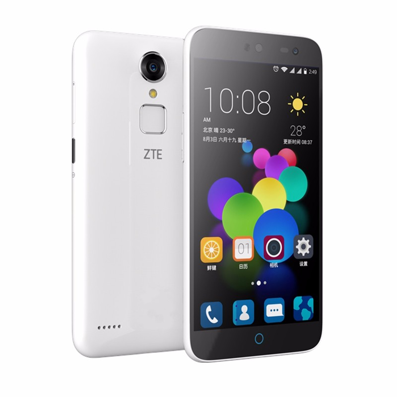 Original ZTE Blade A1 C880U 4G LTE Cell Phone 5.0 MTK6735 64Bit Quad Core 1.3GHz Android 5.1 1280x720 2GB RAM 16GB ROM 13.0MP