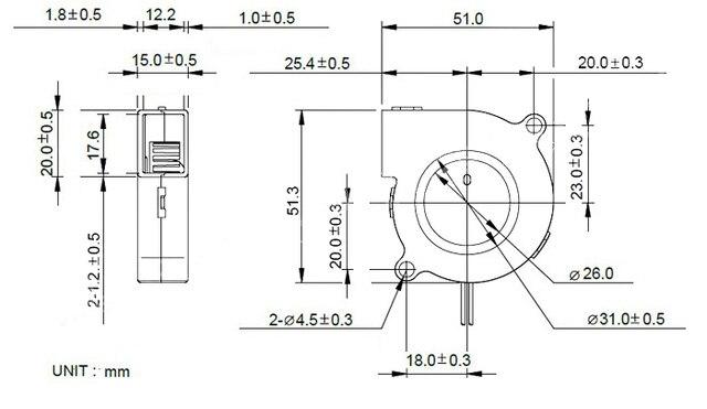 Wentylator drukarki 3D 5015 DC 12V 24V wyjątkowo ciche łożysko olejowe Turbo mały wentylator dmuchawa powietrza