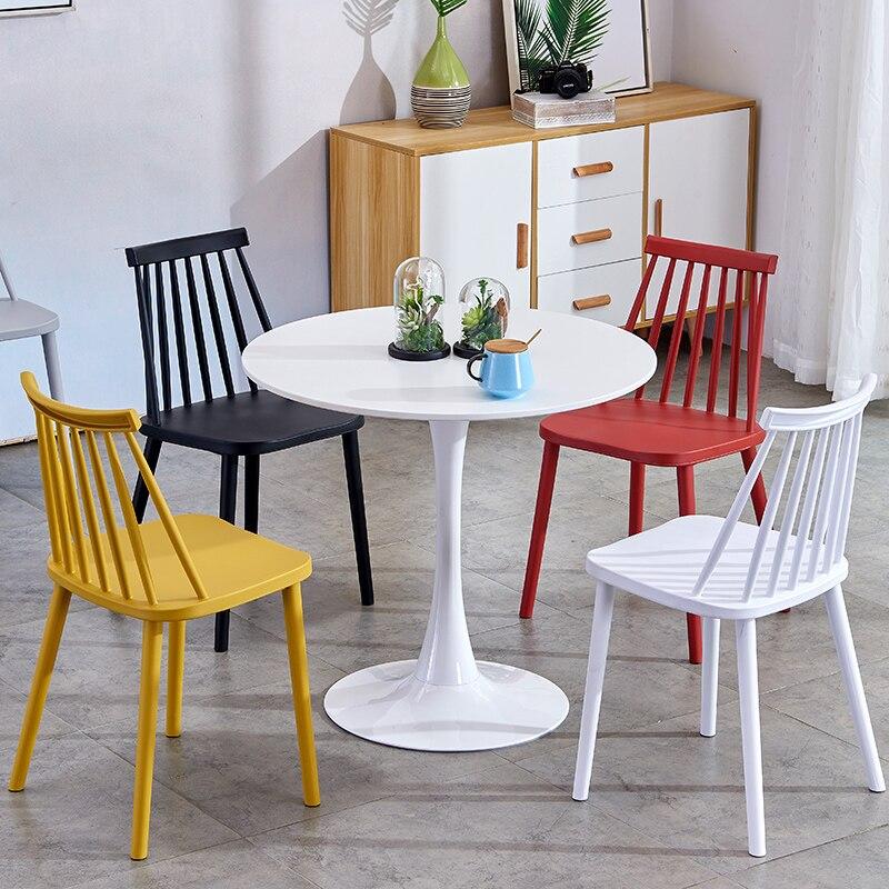 €108.25  Nueva mesa de comedor minimalista moderna pequeña mesa redonda  oficina de ventas para negociar recepción escritorio Mesa Redonda de café  on ...