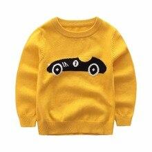 Chandail bébé garçon vêtements d hiver épaissie pull enfants casual Tricoté  chandail de bande dessinée d8a9e6e8639