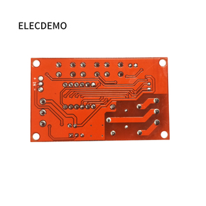 Image 3 - Multi function digital display adjustable power cycle high and low trigger pulse delay relay module 5V12V24V