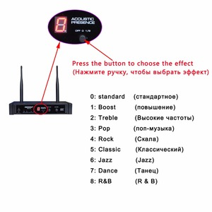 Image 2 - Freeboss FB U10 Dual Way Digital UHF Wireless Microphone with 2 Metal Handhelds