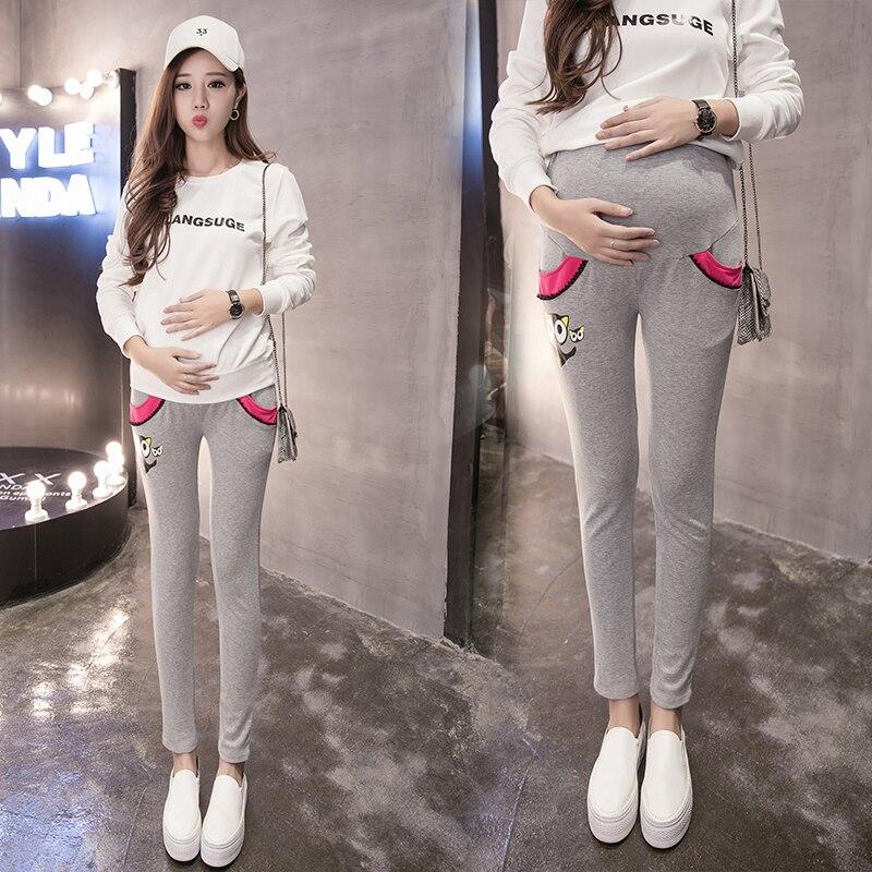 nuevo concepto 14008 7ee9f 2016 mujeres embarazadas Pantalones para embarazadas otoño ...