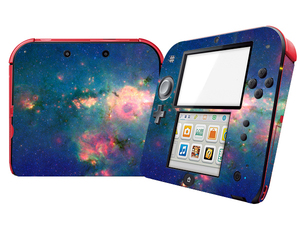 Image 4 - Natural Amazing Star Sky Vinyl Skin Sticker Protector for Nintend 2DS Stickers Decals