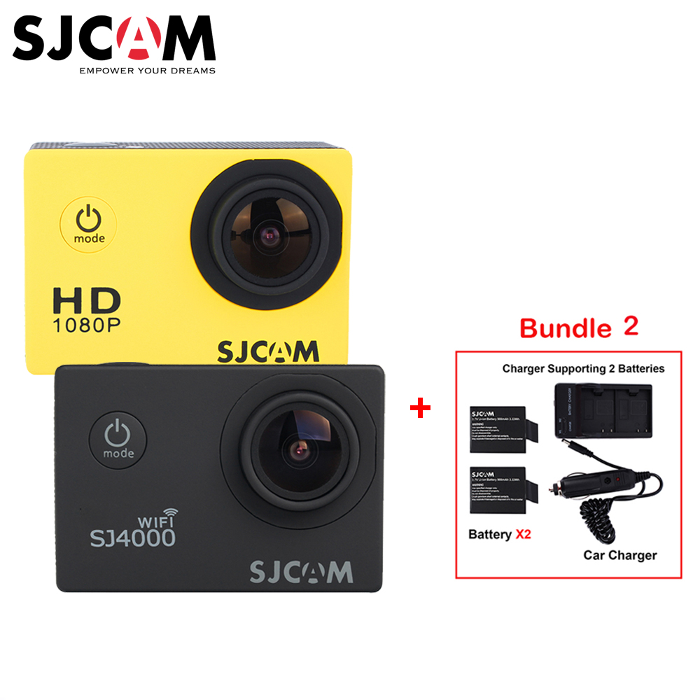 Instructions on how to set up a sjcam sj 4000 - Aliexpress Com Buy Original Sjcam Sj4000 Sj4000 Wifi 1080p Hd 30m Waterproof Sports Action Camera Car Mini Dvr 2batteries Dual Charger Car Charger From