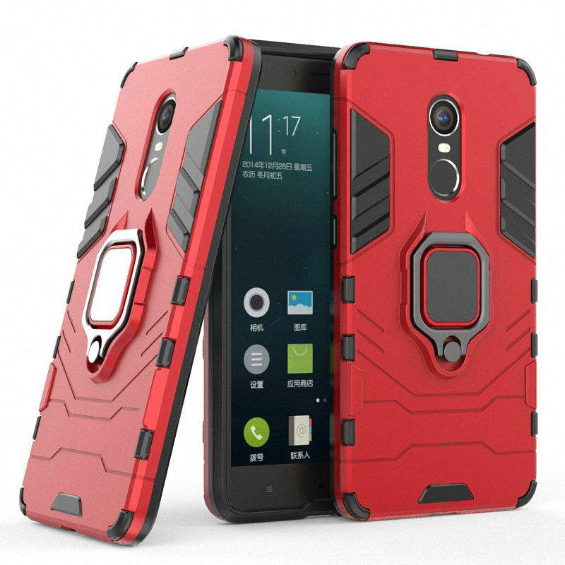 Anti-knock Armor Case for <font><b>Xiaomi</b></font> <font><b>Redmi</b></font> Note <font><b>4</b></font> for <font><b>Xiaomi</b></font> <font><b>Redmi</b></font> Note 4X 16GB <font><b>32GB</b></font> <font><b>Pro</b></font> <font><b>Prime</b></font> Finger Ring Case Holder Cover Case> image