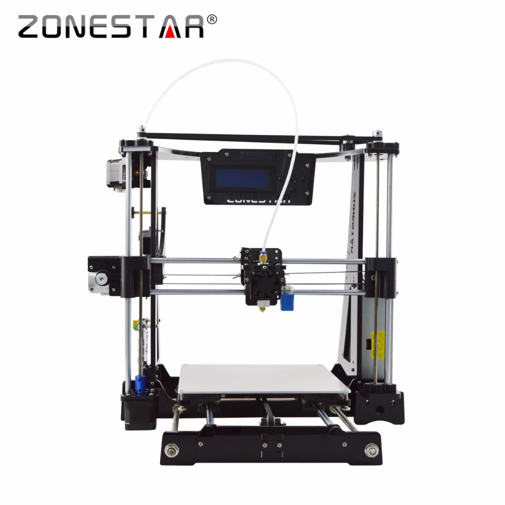 Free Shipping High Precision Easy Level Acrylic Reprap Prusa i3 3D printer DIY kit Bowden Extruder