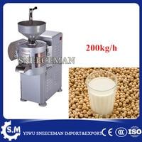 200kg/h commericla soya soy milk maker machine soybeans milk extractor machine soybeans beans milk grinder