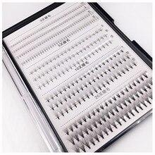 Pestañas postizas hechas a mano, 3D, 5D, 10D, 20D, voluminosas, C, D, rizadas, prefabricadas, extensiones individuales