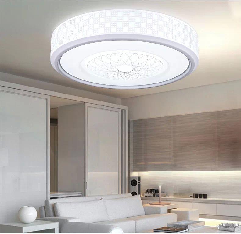 moderno luces de techo barato luces de techo lamparas de techo 24 w 36 w 78 w iluminacin inicio deco abajur lustres en las luces del techo de luces e - Lamparas Modernas De Techo