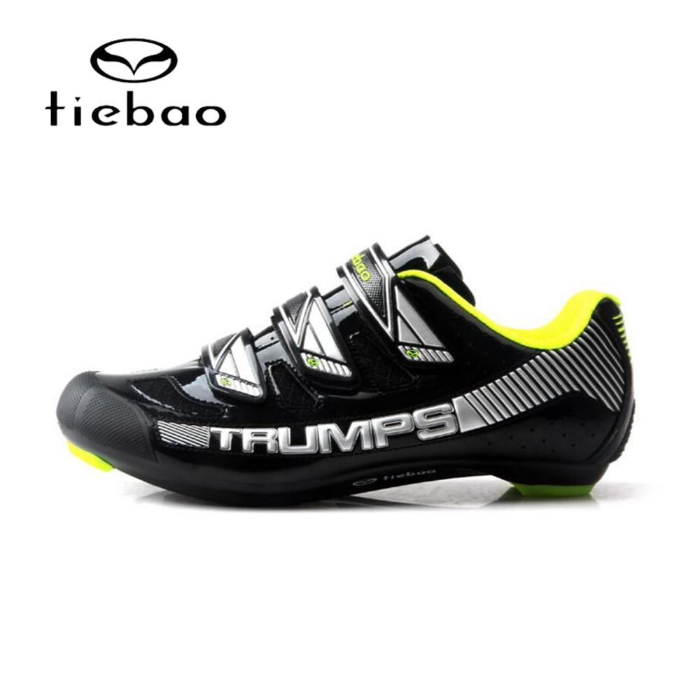 TIEBAO 2018 NEW Road Bike Cycling Shoes Professional Cycling Shoes Road Bike Road Riding Equipment Sapatilha