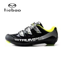 TIEBAO 2018 NEW Road Bike Cycling Shoes Professional Cycling Shoes Road Bike Road Riding Equipment Sapatilha Ciclismo Mtb