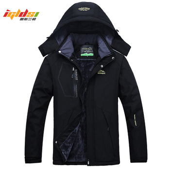 Men's Thick Fleece Winter Down Jacket Outwear Warm Coat Men Windproof Windbreaker Hood Jackets Men Down Parkas Plus Size 4XL 5XL Others Men's Fashion