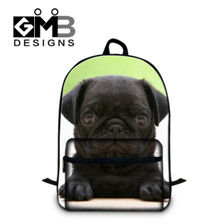 cute puppy design cotton backpack