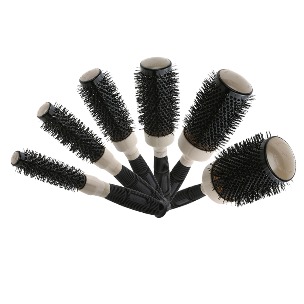 5 Sizes Hair Brush Ceramic Iron Round Comb Prolead Ceramic Salon Hair Styling Brushes Curly Hair Comb Brush Air Heat Comb Props Buy At The Price Of 3 19 In Aliexpress Com Imall Com