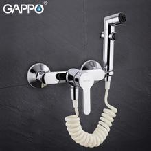 GAPPO bateria bidetowa muzułmański prysznic toaleta spray dysza kobiety łazienka higieniczny prysznic kran wanna prysznic Bidet