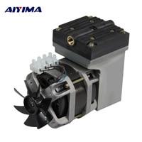 AIYIMA AC В 220 в 80 Вт Oilless мембранный вакуумный насос Электрический мини 33L/мин потока
